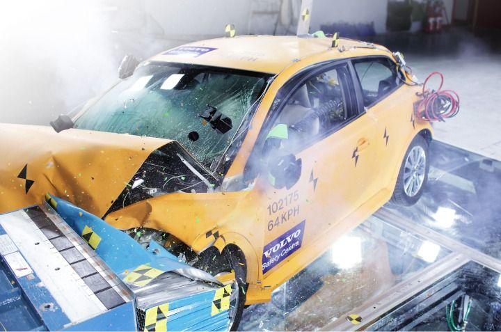 Ener1 Displays Crash-Tested Volvo C30 Electric Vehicle