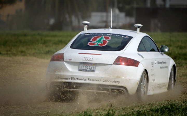 Audi's Robotic Car Drives the Future
