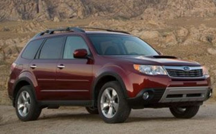 Subaru Forester Named Motor Trend 2009 Sport/Utility of the Year