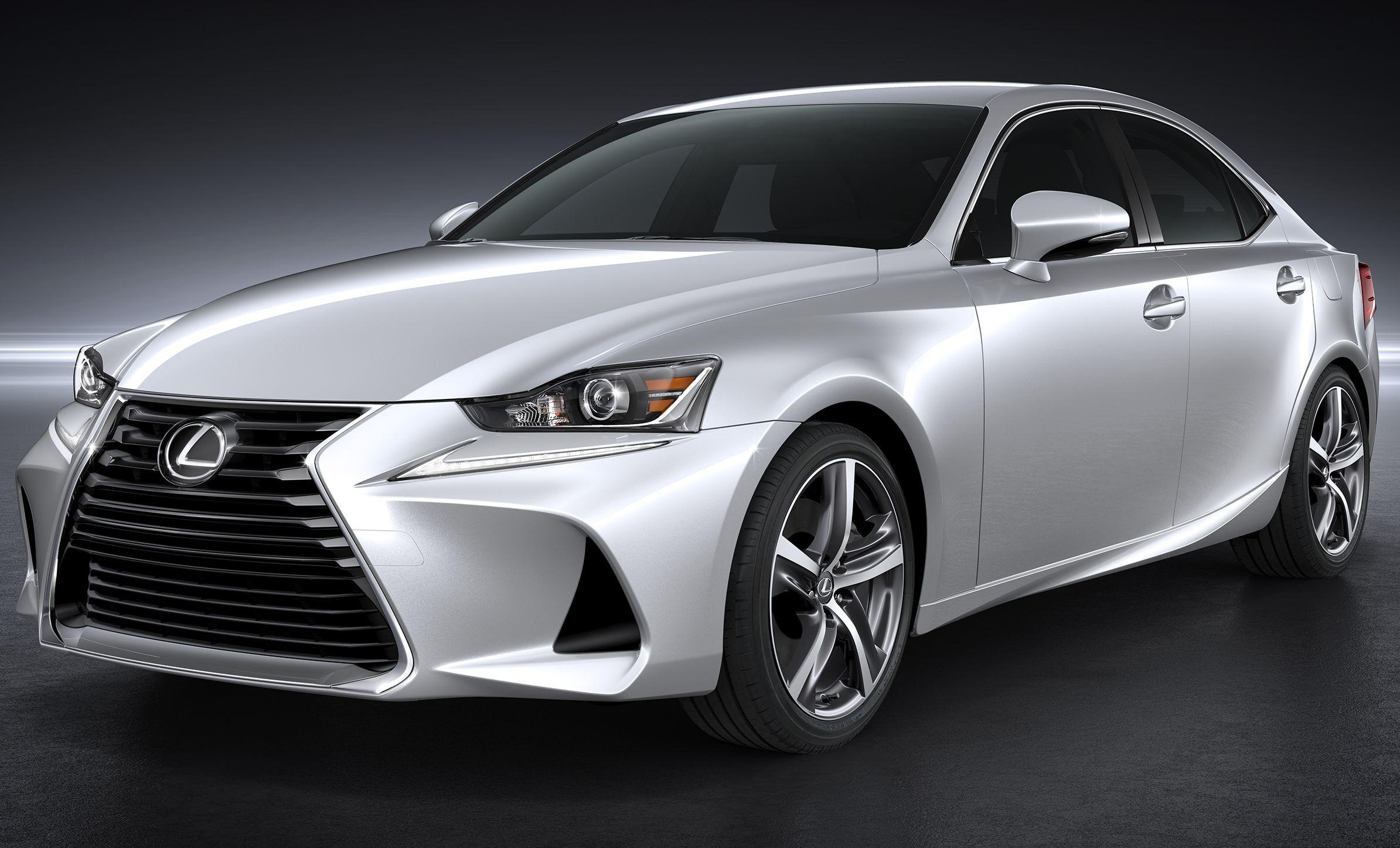 Lexus Shows Revamped IS Sedan