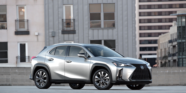Photo of 2019 Lexus UX 200 courtesy of Toyota.