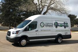 Lightning Systems to Offer Hydrogen-Powered Transit Van