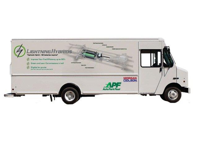 Lightning Hybrids Debuts Hybrid Step Van