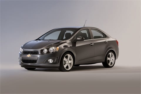 The 2012-MY Chevrolet Sonic made its debut at the 2011 NAIAS.