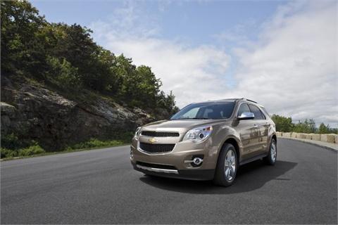 The 2012-MY Chevrolet Equinox.