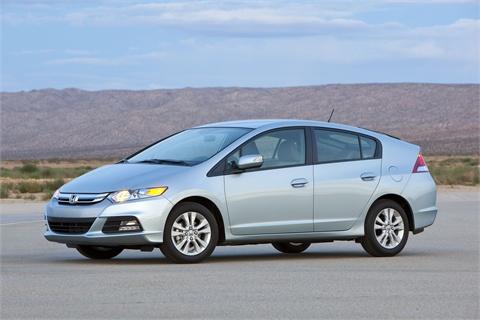 The 2012 Honda Insight EX.