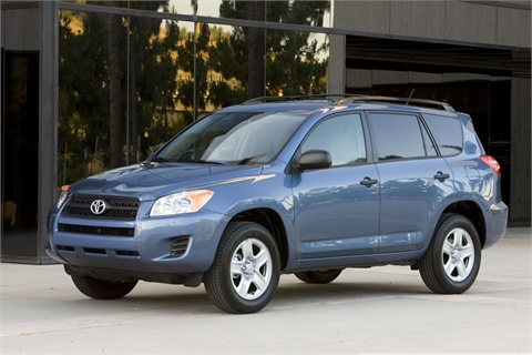 The 2009-2012-MY RAV4.