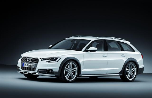 The 2013 Audi allroad wagon.