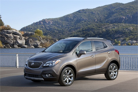 The 2013-MY Buick Encore.