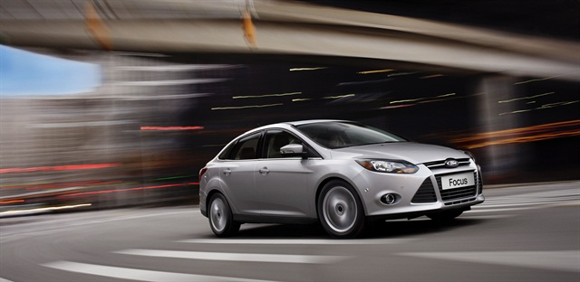 The 2013 Ford Focus.