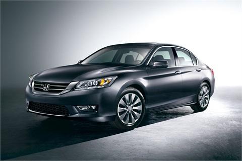 The 2013 Honda Accord Sedan Touring edition.
