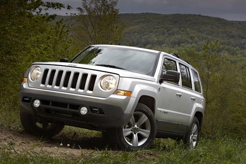 The 2013-MY Jeep Patriot.