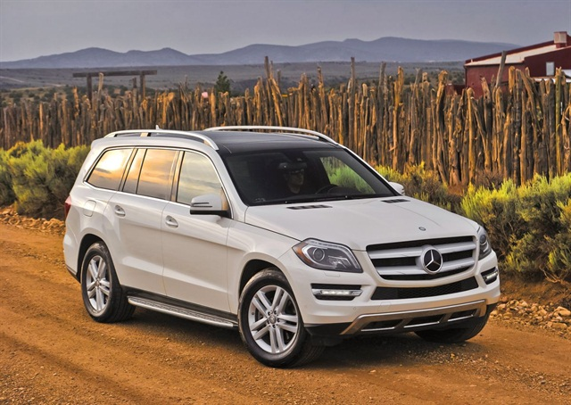 Mercedes plans to show the GL350 at the Miami International Auto Show Nov. 9-18, 2012.
