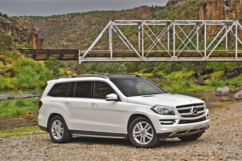 The 2013-MY Mercedes GL-Class.
