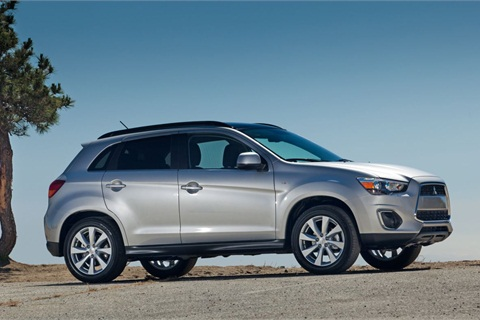 The 2013-MY Mitsubishi Outlander Sport.