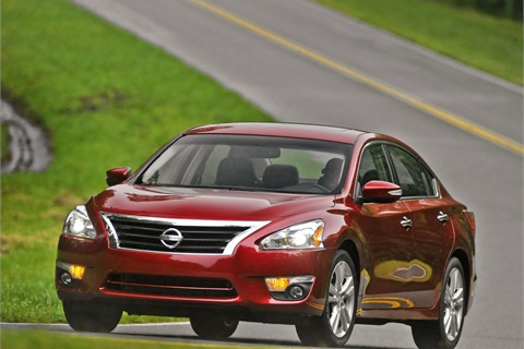 The 2013 MY Nissan Altima. Photo Courtesy Nissan.