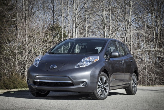 The 2013 Nissan Leaf.