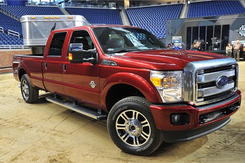 F350 Towing Capacity >> 2013 Ford F Series Boosts Towing And Payload Capacities