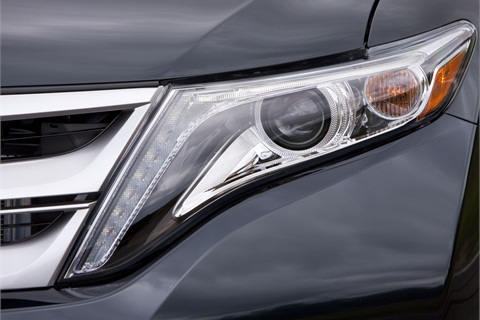 A teaser for the 2013-MY Venza.
