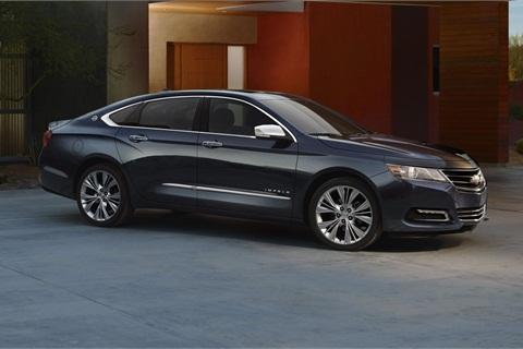 The all-new 2014 Chevrolet Impala.