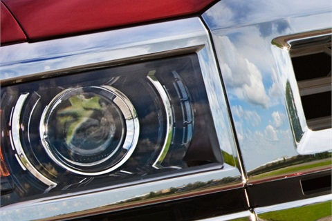"""GM released a teaser photo of the all-new Silverado on Oct. 22. Click here to see the photo of the version that was """"torture-tested"""" earlier this month."""