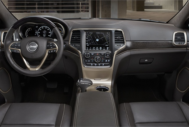 "Chrysler said it used interior accents to differentiate the trim levels. Pictured is the new ""Summit"" trim grade. Photo courtesy of Chrysler Group."