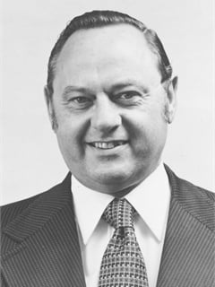 John Lovato, with Allstate Leasing, circa mid-1970s.