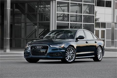 The Audi A6.