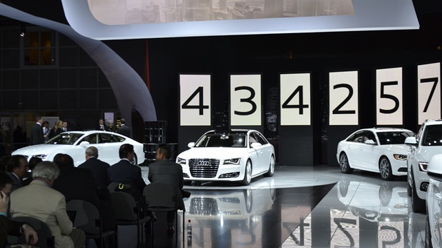 Audi brought its new TDI clean diesel models to the LA Auto Show.