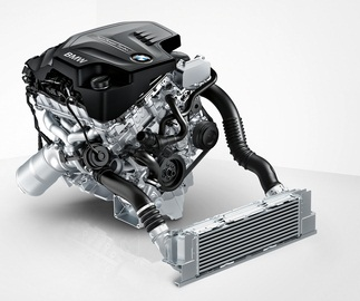 BMW four-cylinder TwinPower Turbo