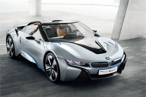 Bmw I8 Spyder Concept Features Ev Technology Planned For Future I