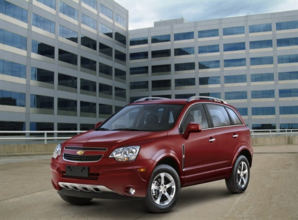 The Captiva Sport is a fleet-only model that is designed to help fulfill fleetdemand for a mid-size crossover.