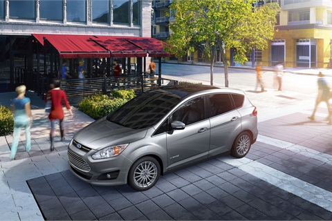 The 2013-MY Ford C-MAX Hybrid.