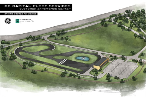 A rendering of the new center.