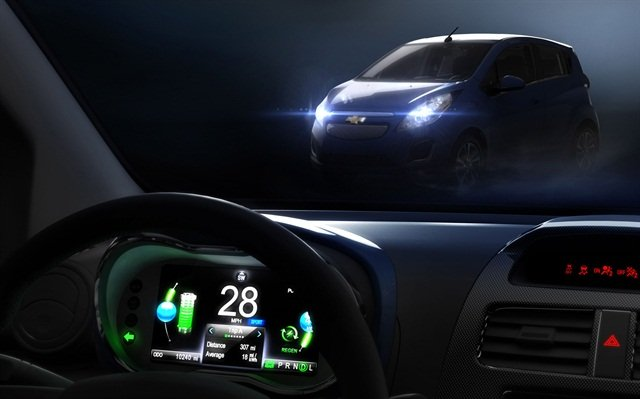 GM plans to show the new Spark EV and 13 other models at the LA Auto Show.