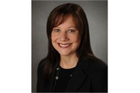 GM's Mary Barra,senior vice president of Global Product Development.