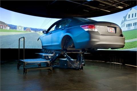 Ohio State University's new Driving Simulator Laboratory