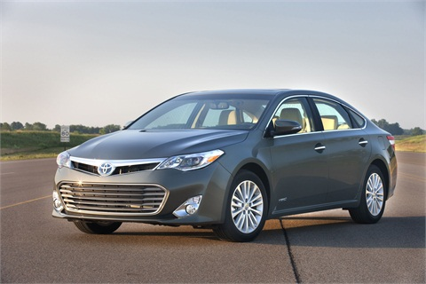 The 2013-MY Avalon Hybrid.