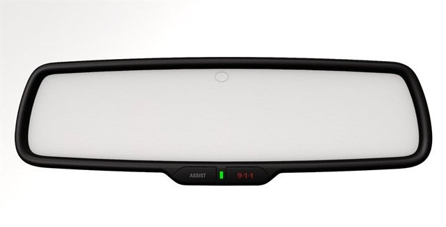 Uconnect Access features are available via buttons on the rear-view mirror in the 2013 Ram 1500 and 2013 SRT Viper.