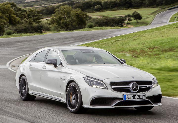Mercedes-Benz Redesigns Four-Door CLS Coupe