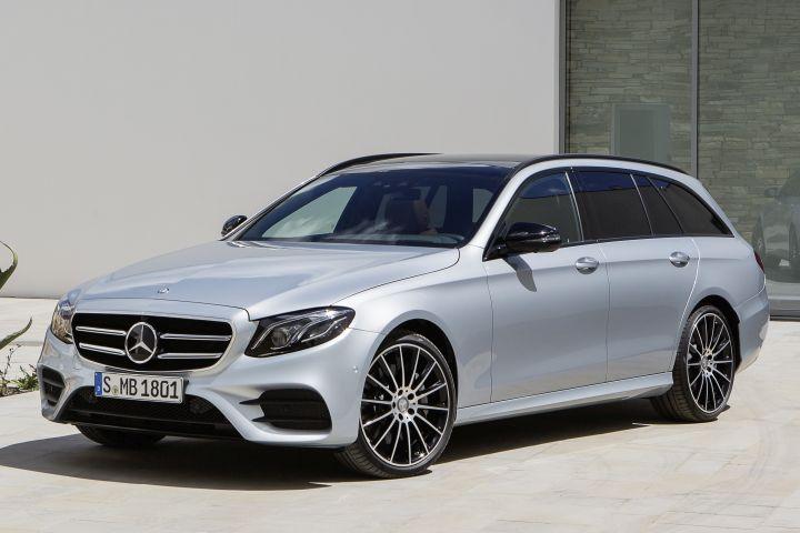Mercedes-Benz Offering 2017 E-Class Wagon