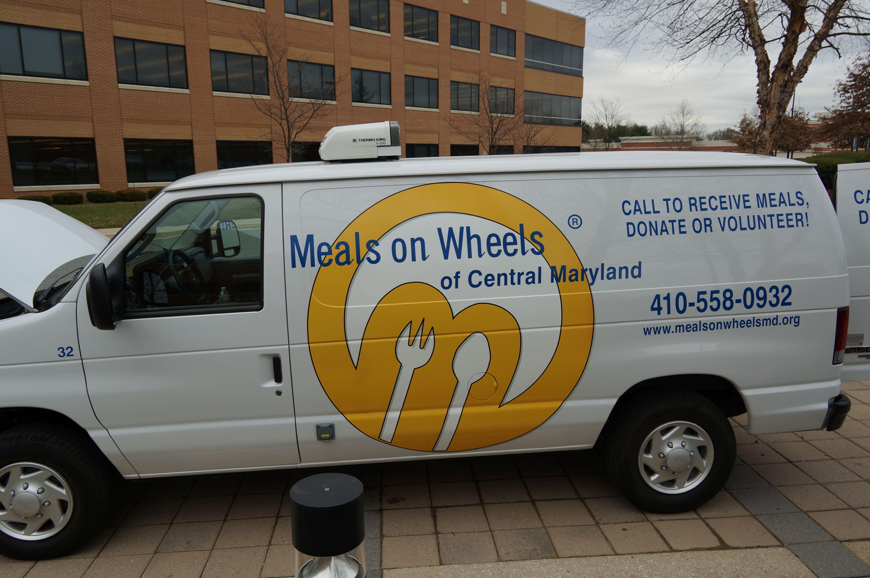 Maryland Fleet Delivering Meals During Holiday