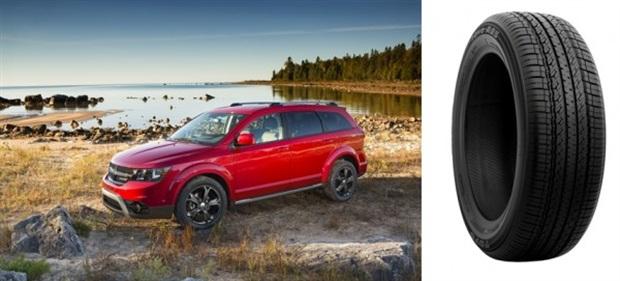 Dodge Journey Gets Factory Toyo Tires