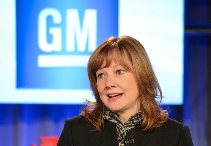 GM's Barra, Elon Musk Meet with Trump