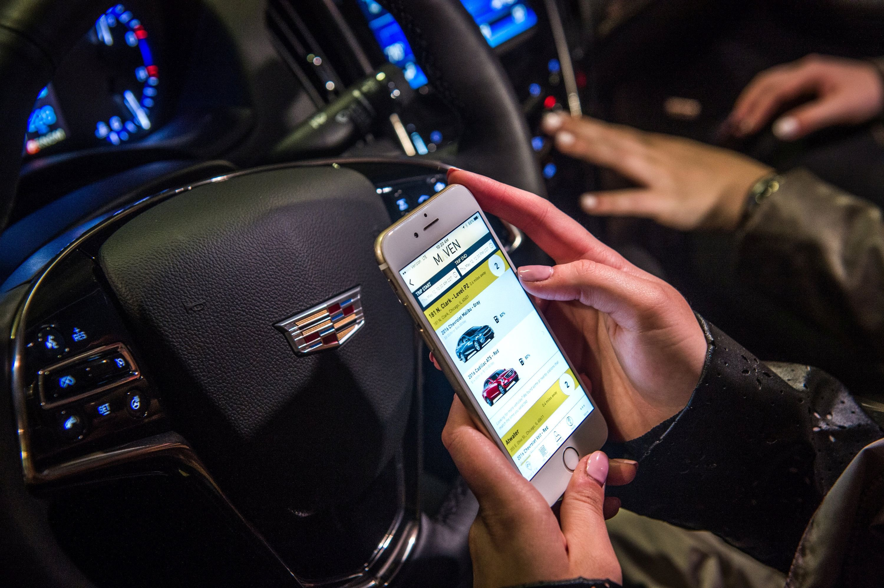 GM's Maven Carsharing Launches in Atlanta