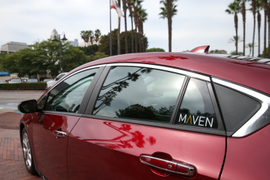 GM's Maven Launches Carsharing Service in Los Angeles