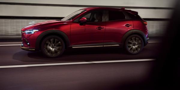 Photo of 2019 CX-3 subcompact SUV courtesy of Mazda.