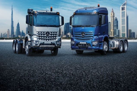 All-New Mercedes-Benz Actros, Arocs Trucks Launch in Middle East, Africa