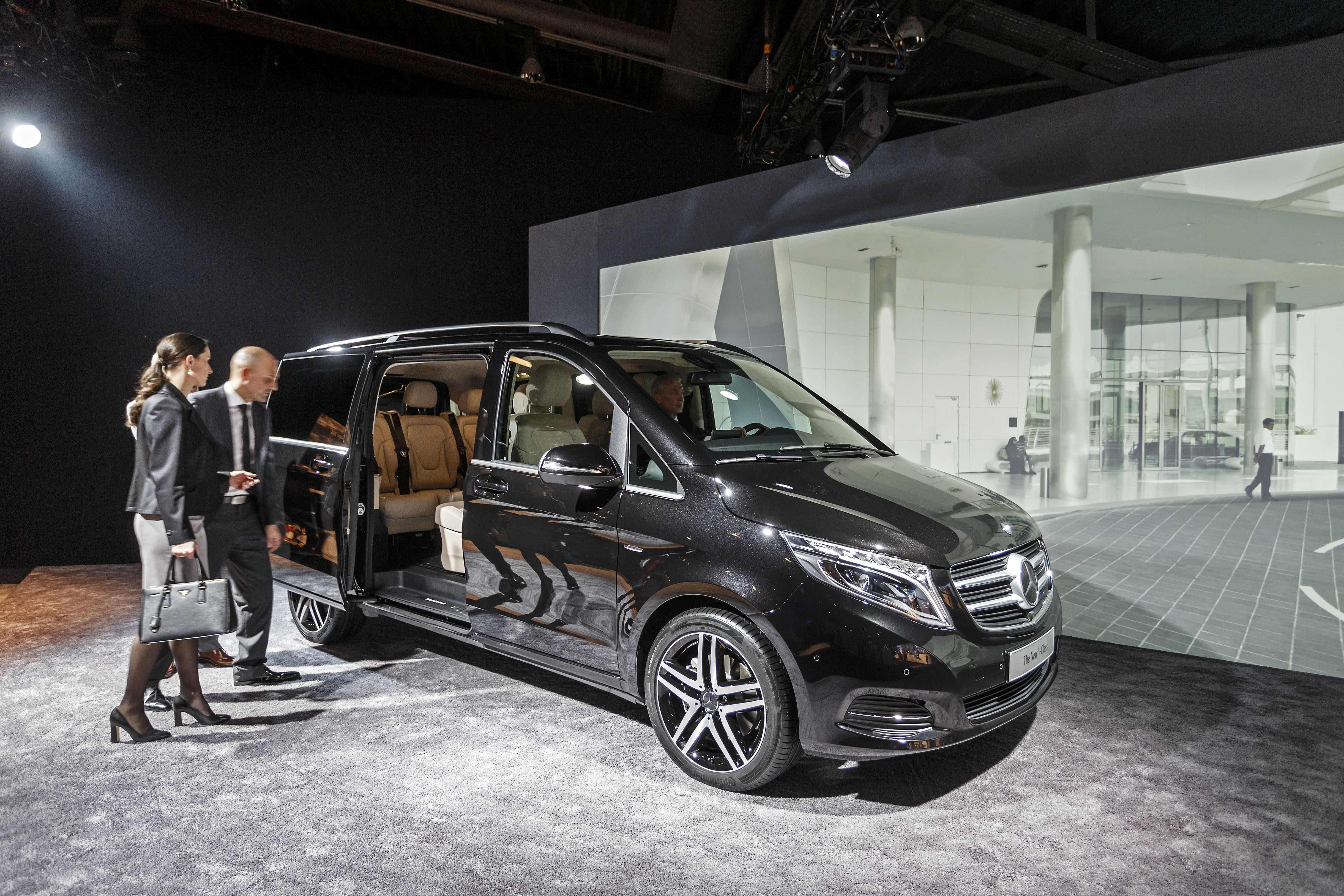 Mercedes-Benz Premieres New V-Class MPV in Germany