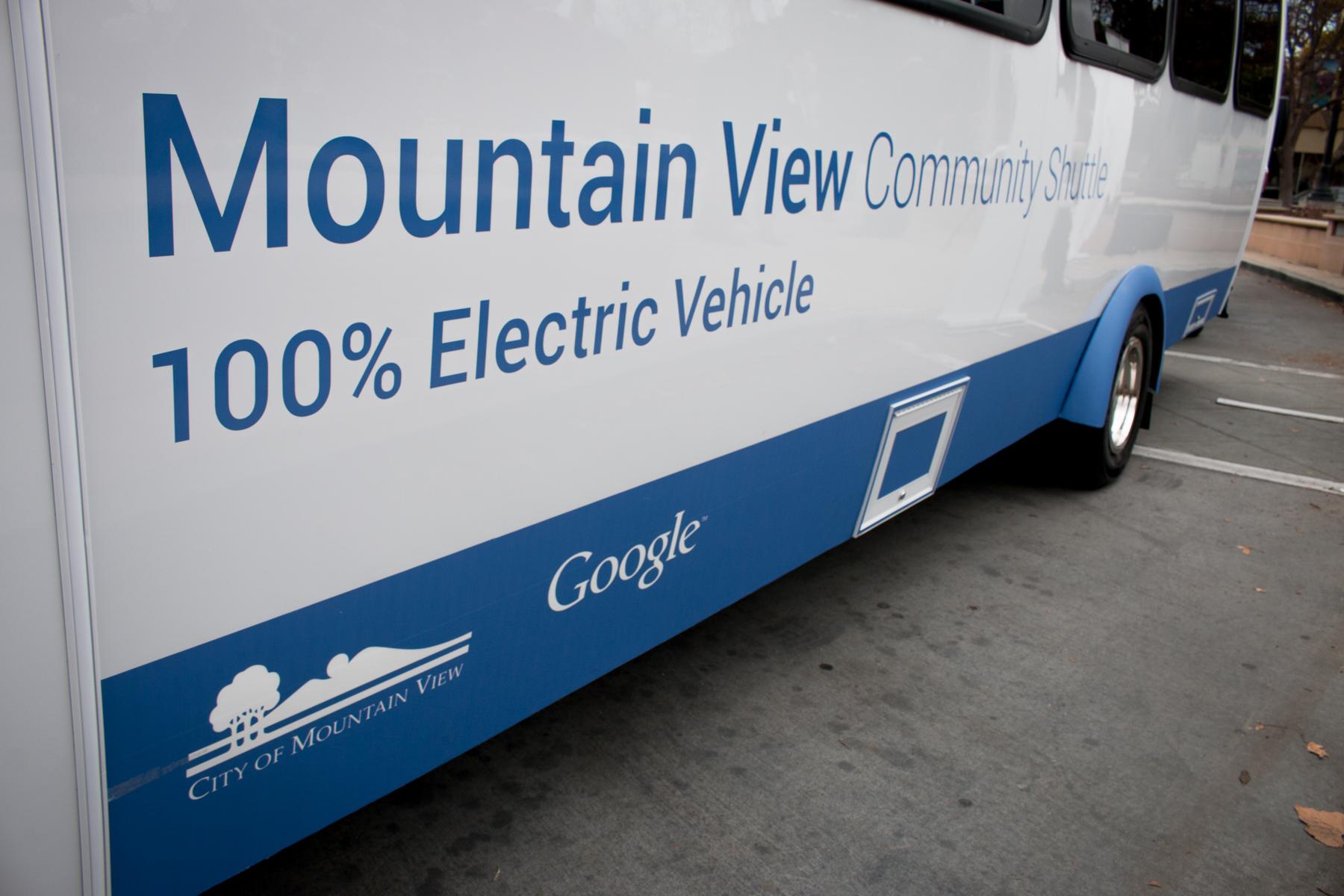 EV Shuttle Buses Deployed in Mountain View, Calif.